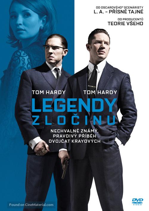 Legend - Czech DVD movie cover