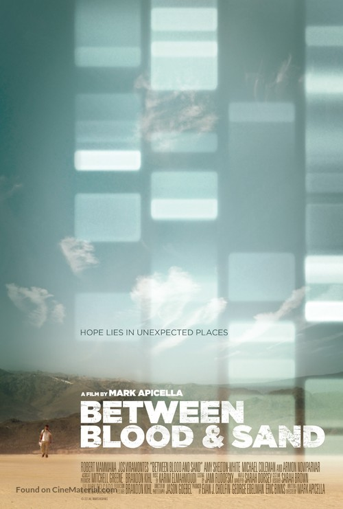 Between Blood and Sand - Movie Poster