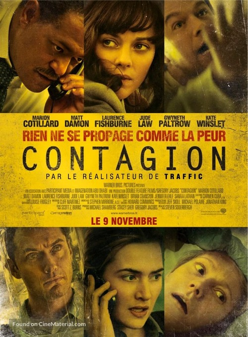Contagion - French Movie Poster