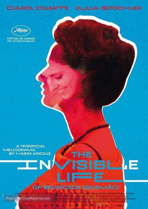 A Vida Invisível - Brazilian Movie Poster