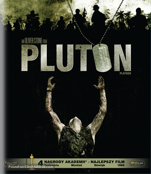 Platoon - Polish Blu-Ray movie cover