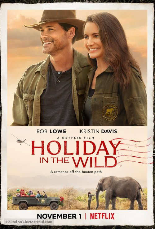 Holyday in the Wild - Movie Poster