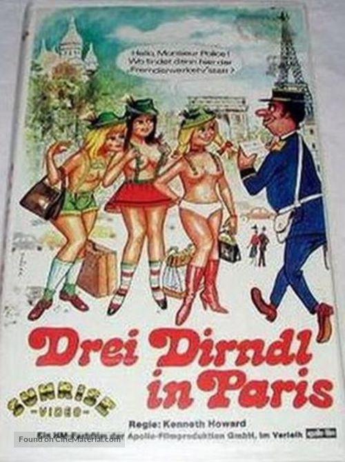 Retro Porno - Drei Dirndl in Paris