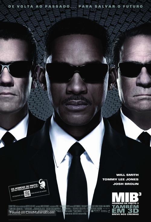 Men in Black 3 - Brazilian Movie Poster