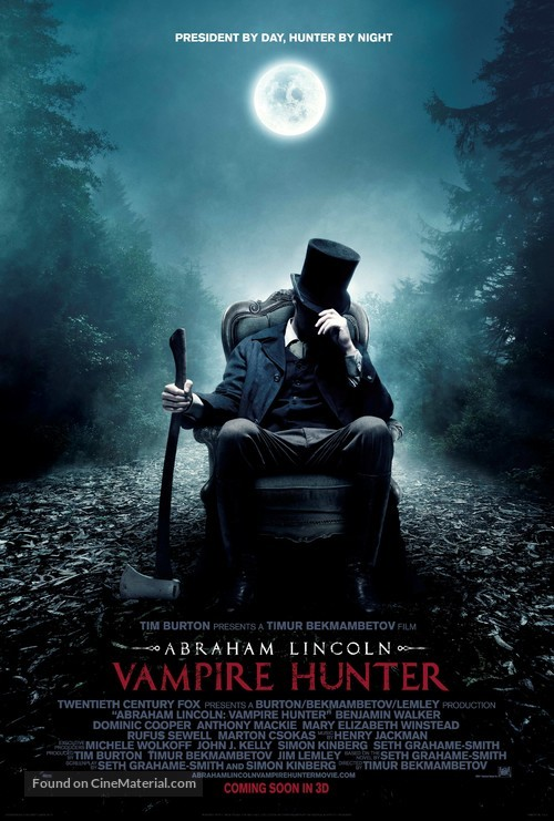 Abraham Lincoln: Vampire Hunter - Movie Poster