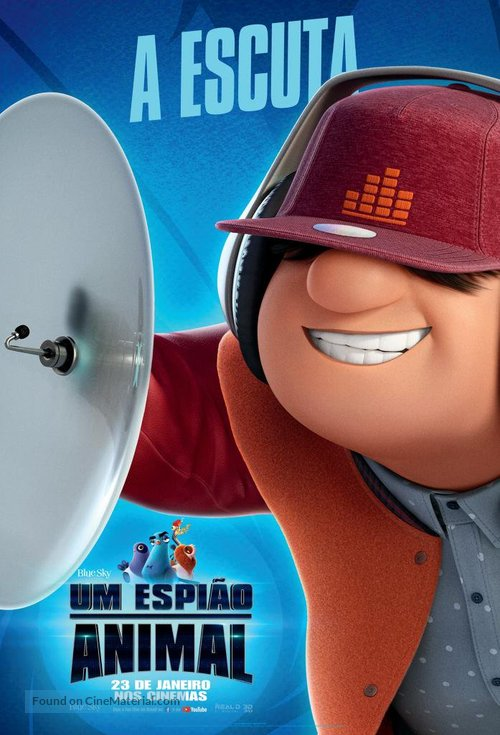 Spies in Disguise - Brazilian Movie Poster