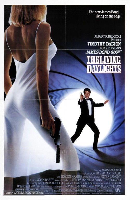 The Living Daylights - Movie Poster