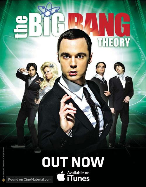 """""""The Big Bang Theory"""" - British Movie Poster"""