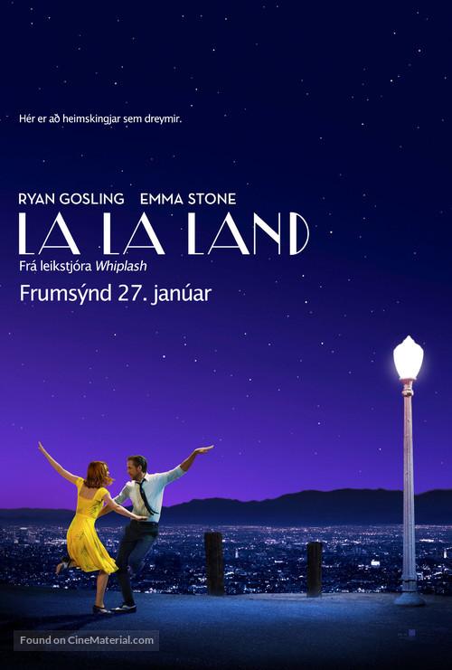 La La Land - Icelandic Movie Poster