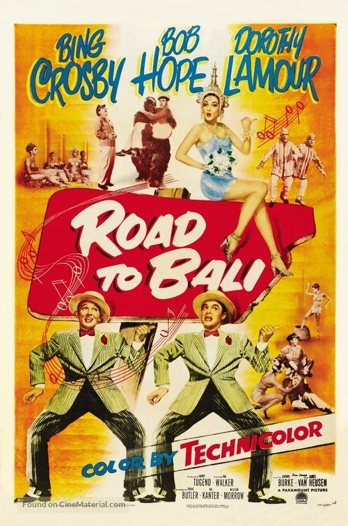 Road to Bali - Movie Poster