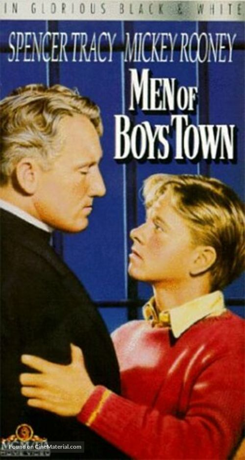 Men of Boys Town - VHS cover