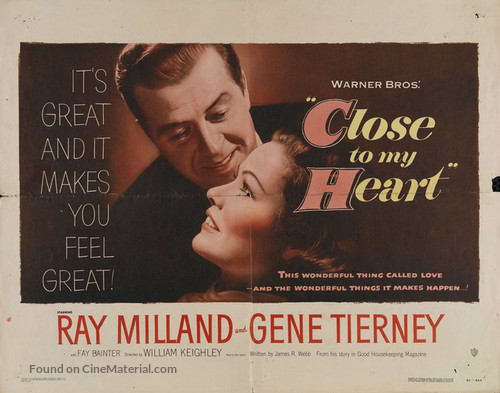 Close to My Heart - Movie Poster