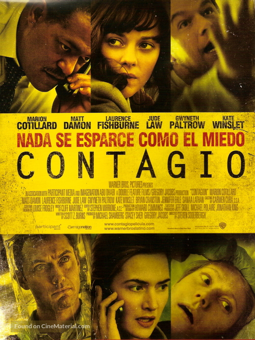 Contagion - Argentinian Movie Poster