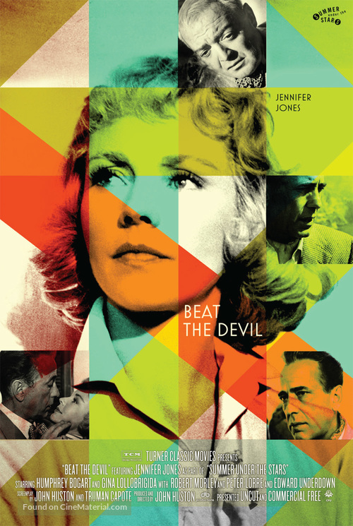 Beat the Devil - Re-release movie poster