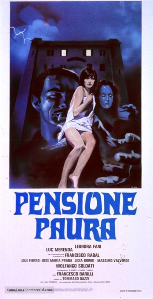 Pensione paura - Italian Movie Poster