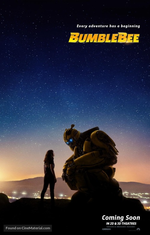 Bumblebee - Movie Poster