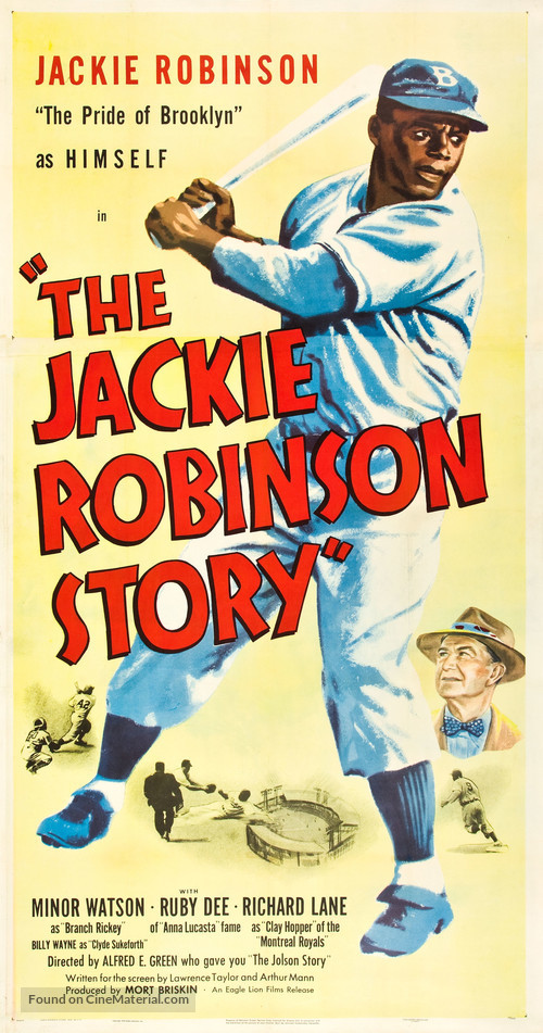 The Jackie Robinson Story - Movie Poster