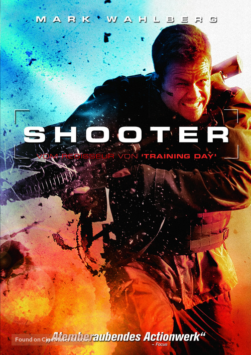 Shooter - German DVD cover