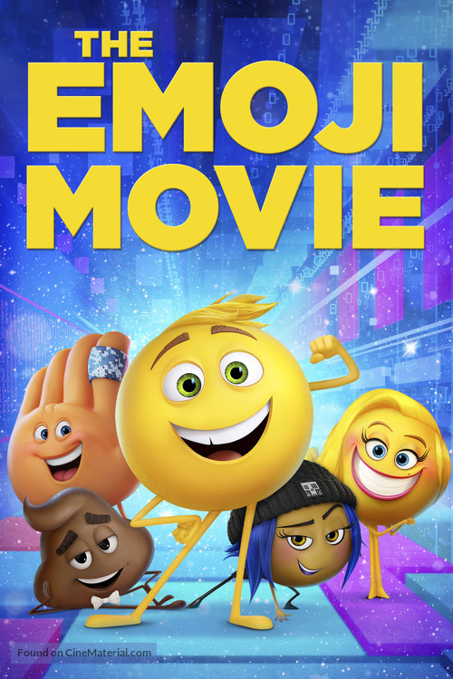 The Emoji Movie - Movie Cover