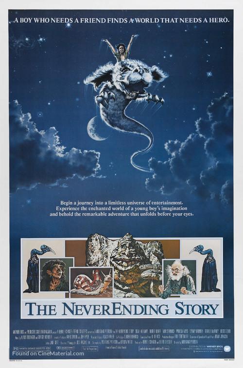 Die unendliche Geschichte - Theatrical poster