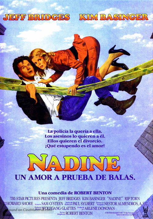 Nadine - Spanish Movie Poster