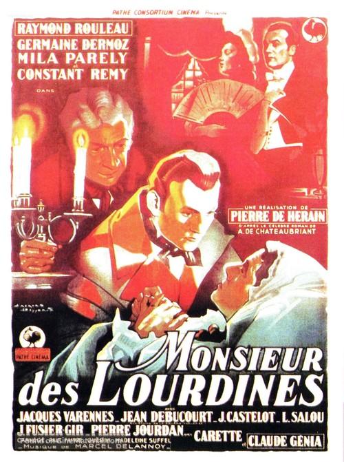 Monsieur des Lourdines - French Movie Poster
