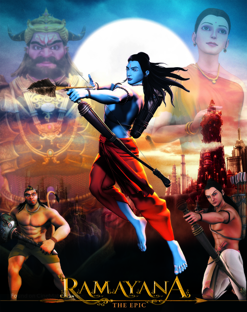 Ramayana: The Epic Indian movie poster