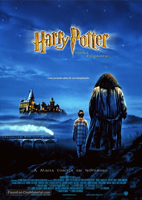 Harry Potter and the Sorcerer's Stone - Brazilian Movie Poster