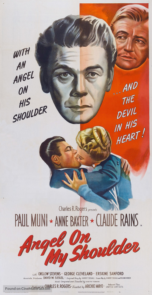 Angel on My Shoulder - Movie Poster