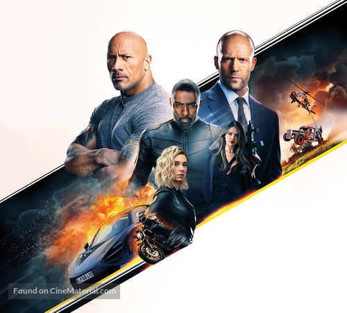 Fast & Furious Presents: Hobbs & Shaw - Key art
