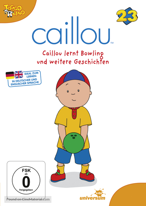 """""""Caillou"""" - German Movie Cover"""