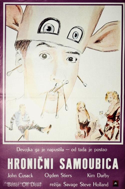 Better Off Dead... - Czech Movie Poster