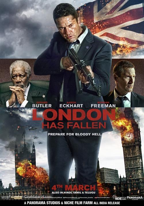 London Has Fallen - Indian Movie Poster