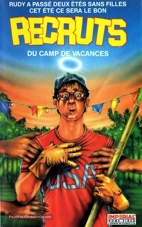 Meatballs III: Summer Job - French VHS movie cover
