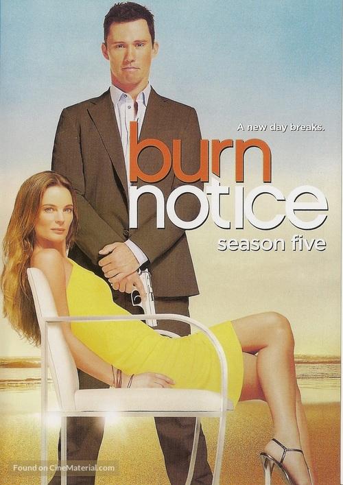 """Burn Notice"" - DVD movie cover"