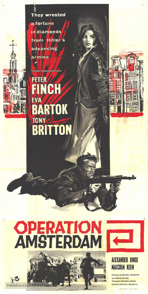 Operation Amsterdam - British Movie Poster