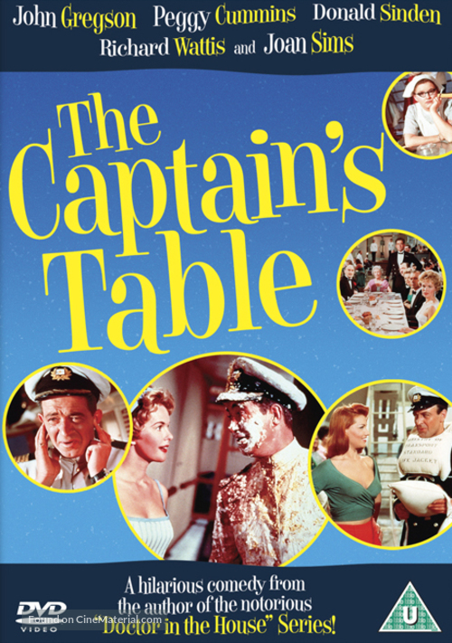 The Captain's Table - British DVD cover