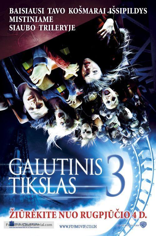 Final Destination 3 - Lithuanian Movie Poster