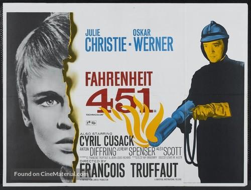 Fahrenheit 451 - British Theatrical poster