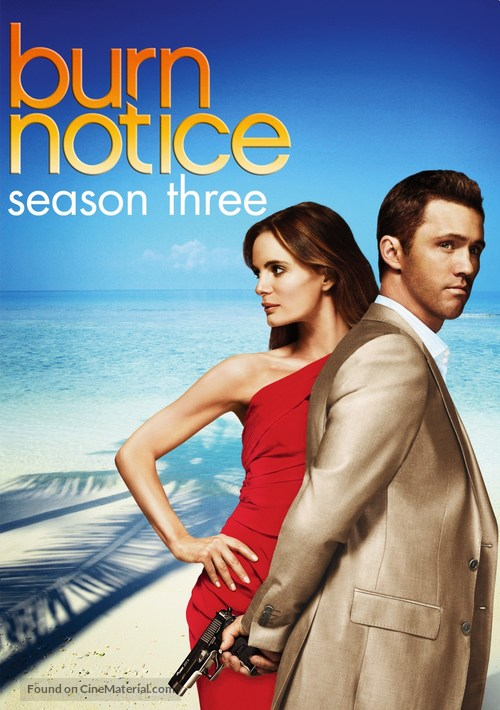 """Burn Notice"" - Movie Cover"