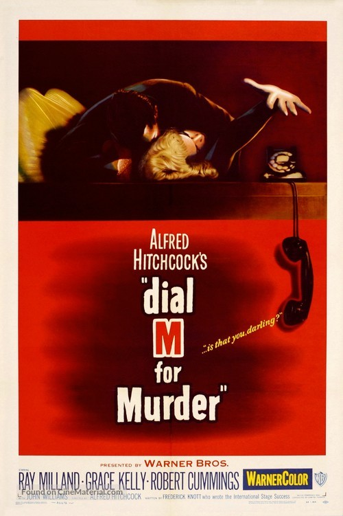 Dial M for Murder - Movie Poster