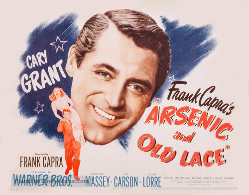 Arsenic and Old Lace - Movie Poster