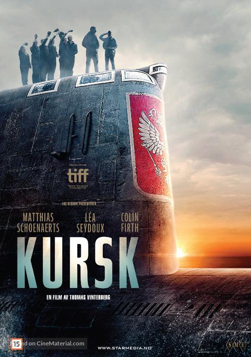 Kursk - Norwegian DVD cover