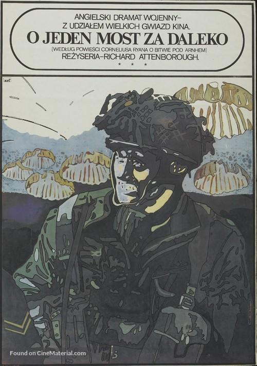 A Bridge Too Far - Polish Movie Poster