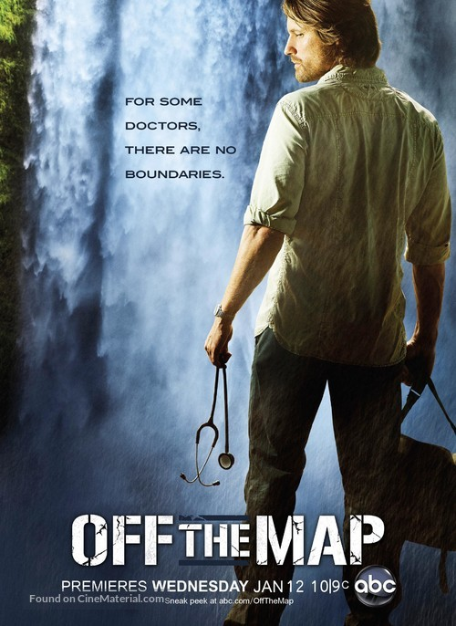 """Off the Map"" - Movie Poster"
