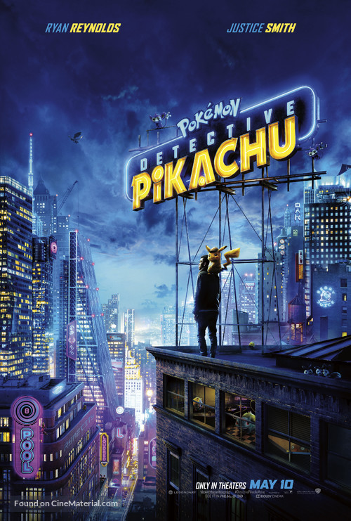 Pokémon: Detective Pikachu - Movie Poster