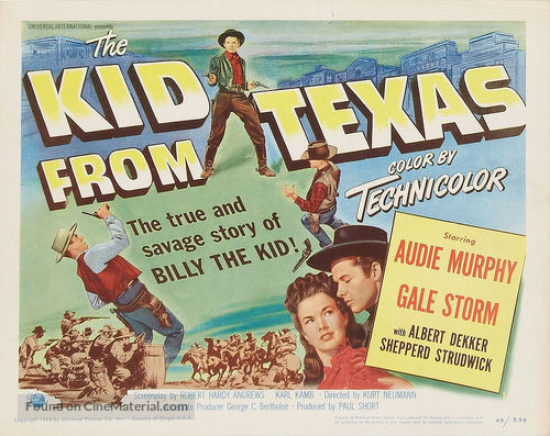 The Kid from Texas - Movie Poster