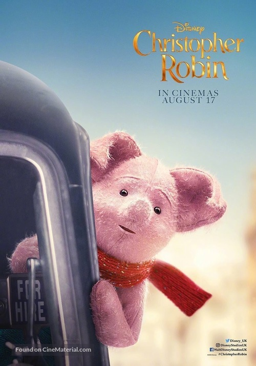 Christopher Robin - British Movie Poster