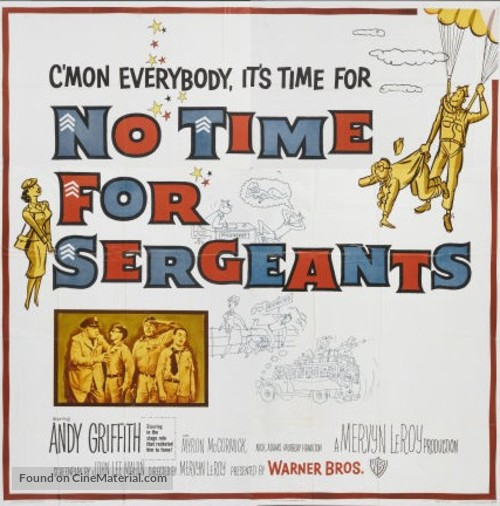 No Time for Sergeants - Movie Poster