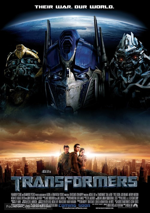 Transformers - Movie Poster